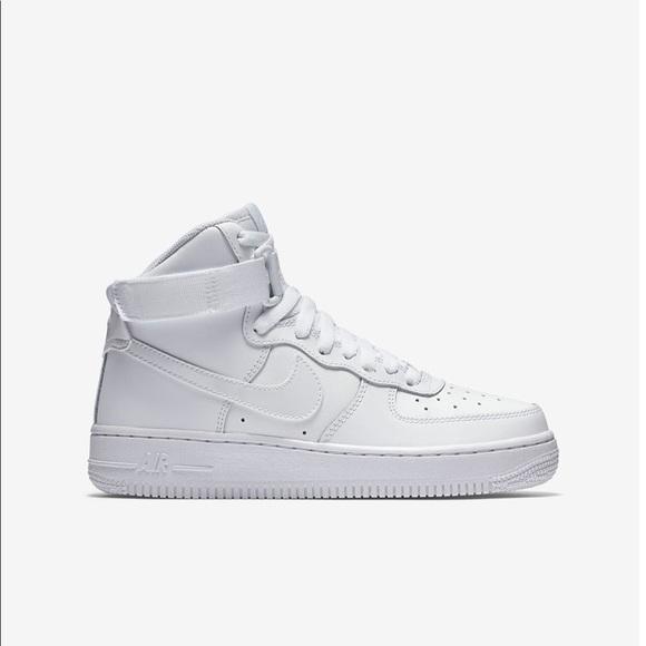 Kids Nike Air Force Hightops | Poshmark